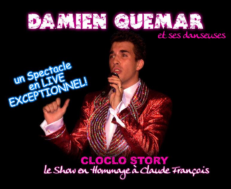 Damien Quémar sosie Claude François annuaire Bunny